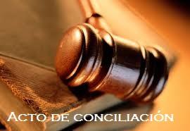 Acto de conciliación