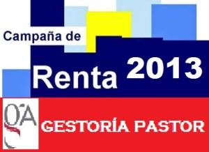 Declaracion renta 2013
