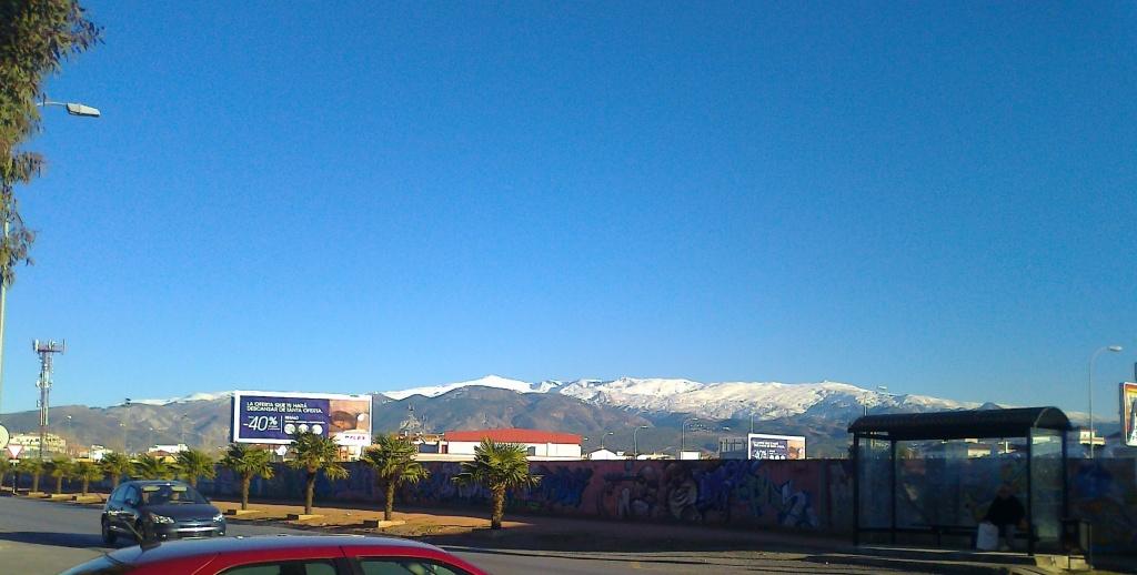 Sierra Nevada desde la Vega