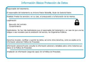 Info Basica RGPD