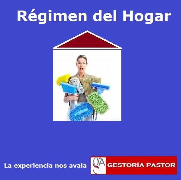 régimen del hogar